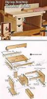 benchtop router table plans router tips jigs and fixtures