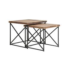 Argos Reclaimed Wood Nesting Tables (Set Of 2) Nesting Tables Set Of 2 Havsta Gray Josef Albers Tables 4 Pavilion Round Set Zib Gray Piece Oslo Retail 3 Modern Reflections In Blackgold Two Natural Pine And Grey Zoa Nesting Tables Set Of Lack Black White Contemporary Solid Wood Maitland Smith Faux Bamboo