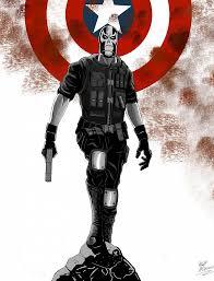 Marvel Crossbones Comic Book Cover Captain America
