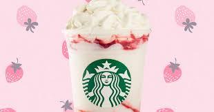 Starbucks Debuts Serious Strawberry Frappuccino