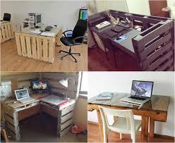 palette bureau bureau en palette bureau en palette mod 232 les diy et tutoriel