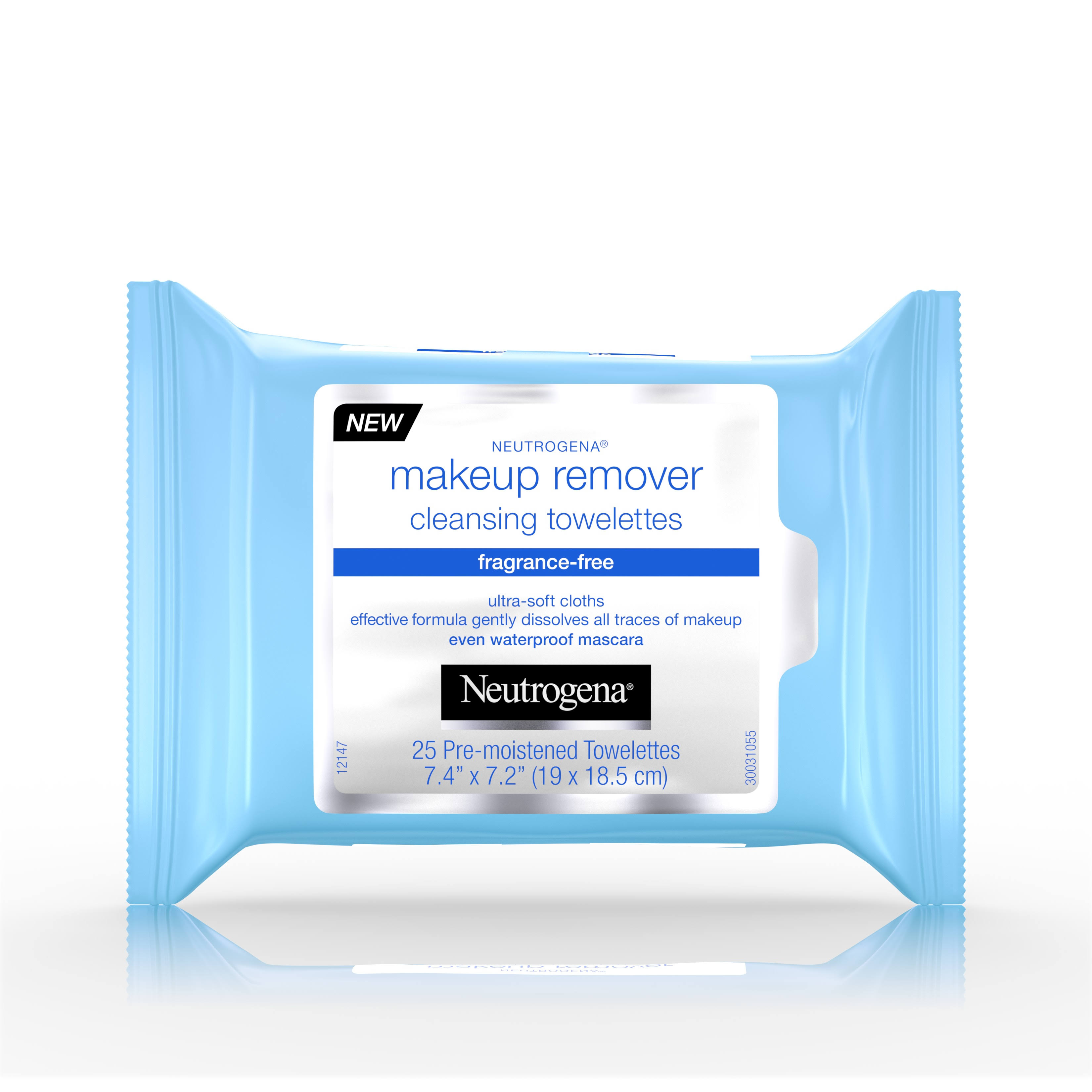 Neutrogena Make Up Remover Cleansing Towelettes - Fragrance Free, 25ct