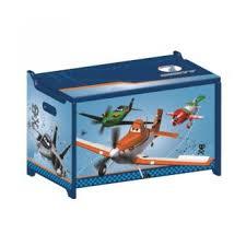 disney planes coffre à jouets en bois achat prix fnac