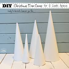 Flocking Machine For Christmas Trees by How To Make Christmas Tree Cone Craft Forms For 10 Cents Apiece