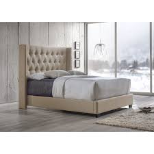 Raymour And Flanigan Upholstered Headboards by Bedroom Gray Metal Bed Platform Bed No Headboard King Dark Grey