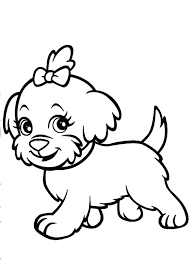 Dog Coloring Pages Page Realistic Download Of Dogs Printable Cats And Horses Medium Size