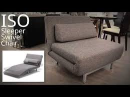 Flip Chair Convertible Sleeper by Stop Motion Transforming Swivel Sleeper Chair The Iso Youtube