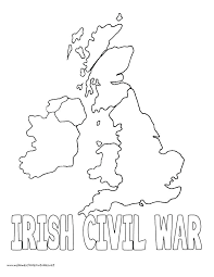Civil War Coloring Page Book And Packed With World
