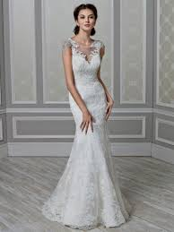 lace mermaid wedding dresses with cap sleeves naf dresses