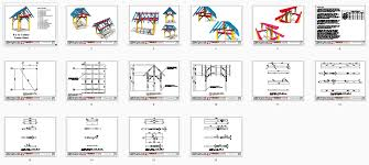 8x12 Storage Shed Blueprints by 8x12 Shed Plan Timber Frame Hq