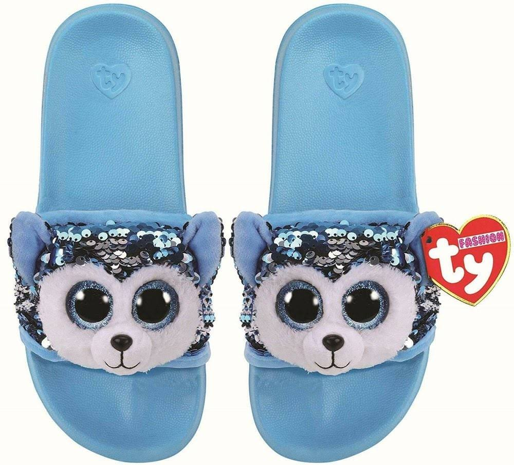 Ty Plush Slush Husky Sequin Slides