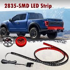 100 Light Bar Truck Partsam 48 Tailgate Redwhite LED