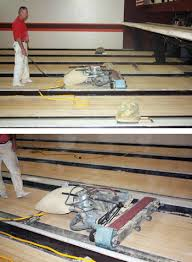 Drum Floor Sander For Deck by A Look At The Dying Craft Of Sanding U0026 Finishing Bowling Alleys