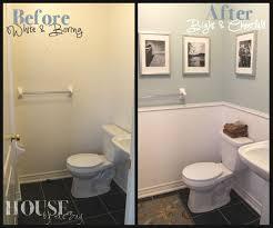 Half Bathroom Decorating Ideas Pinterest by Best 25 Small Bathroom Decorating Ideas On Pinterest Small