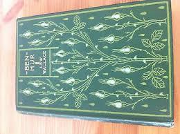 ANTIQUE BEN HUR A Tale Of The Christ Books