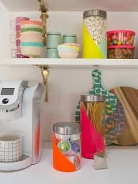 Neon Jar DIY Makes Your Kitchen Pop With Color