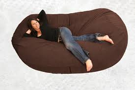 Amazing Large Bean Bag Chair With Additional Home Interior Collections