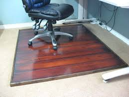 Staples Office Desk Mats by Anji Mountain Bamboo Tri Fold Office Chair Mat Bamboo Chair Pad