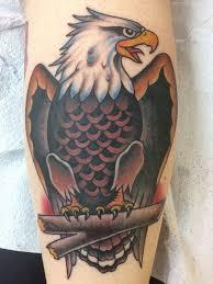 Robbieeagle Traditional Tattoo Eagle Sailor Jerry