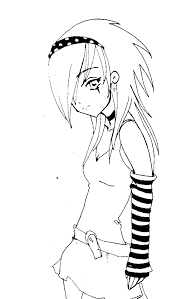 View Larger Emo Wolf Couple Anime Girl Coloring Pages