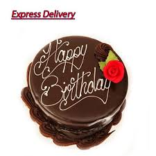 Buy Say Happy Birthday Her With Chocolate Cake online