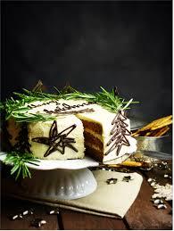weihnachtstag spekulatius torte mit zimt mandel creme die