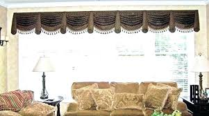 Swag Curtains For Living Room Valance Valances Dining Full Size Country