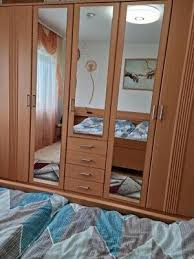 schlafzimmer komplett gebraucht inc kleiderschrank bett