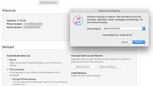How to restore an iPhone or iPad from an iCloud or iTunes backup