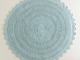 Small Round Bath Rugs by Round Bath Rugs Affordable Crystal Velvet Fabric Magic Circle