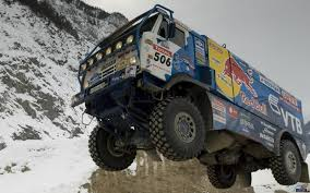 Red-bull Dakar Rally Russian Kamaz Race Truck Desert Racing Sand ...