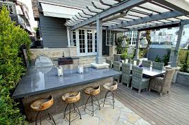 Outdoor Bar Lighting Ideas Deck Contemporary With Furniture Pendant Patio
