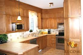 comptoir de c駻amique cuisine comptoir cuisine bois awesome renover cuisine bois cuisine en