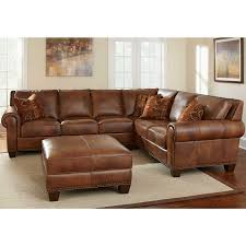 Brown Leather Couch Living Room Ideas by Living Room Brown Leather Sectional Sleeper Sofa 39 With Brown