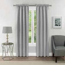 Eclipse Samara Room Darkening Energy-Efficient Thermal Curtain Panel Best Home Fashion Thermal Insulated Blackout Curtains Back Tab Rod Pocket Beige 52w X 84l Set Of 2 Panels Shop Farmhouse Style Decor Point Valances Pretty Windows Discount Country Window Toppers Top Swags Galore Aurora Mix Match Tulle Sheer With Attached Valance And 4piece Curtain Panel Pair Post Taged Outlet Store Lined Scalloped Custom Treatments Draperies Page 1 Primitive Rustic Quilts Rugs Drapes More From The Lagute Snaphook Truecolor Hookless Shower Gray