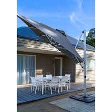 Large Cantilever Patio Umbrella by Outdoor Large Glass Door Combine With Modern Cantilever Umbrella