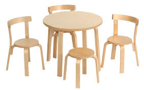 Schon Modern Child Table And Chair Set Cove Dressing ...
