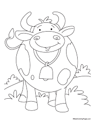 Princess Of Milkland Cow Coloring Pages