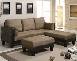 ellesmere contemporary microfiber sofa bed group with 2 ottomans