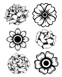 Free Printable State Flower Coloring Pages Bouquet Rose And