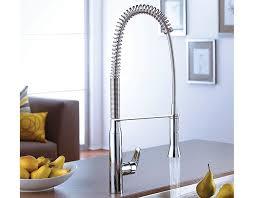 robinet de cuisine avec douchette grohe robinet de cuisine semi professionnel k7 avec douchette