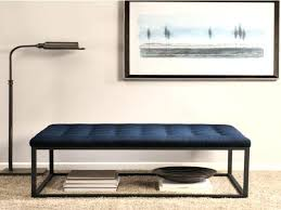 Navy Storage Bench by Precious Navy Leather Ottoman Images Area Of Blue Foot Rest Bed