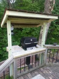 Patio Caddie Grill Cover by Grill Shelter Plans Outdoor Plans Pinterest Shelter