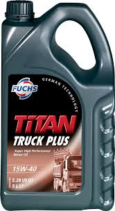 FUCHS 'Titan Truck Plus' 15W-40 Oil