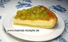 weintrauben quarkkuchen