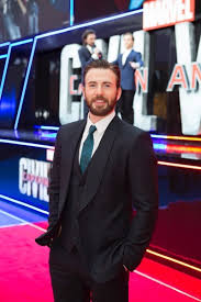 London UK Chris Evans Attends The European Premiere Of Marvels Captain America Civil