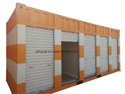 100 Shipping Container Model Hot Item ISO Modified 20FT Used Steel Cargo Storage With Garage Doors