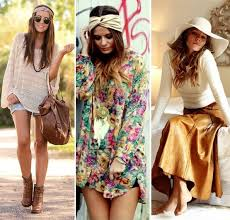 LOOK OH SO CHIC IN BOHO
