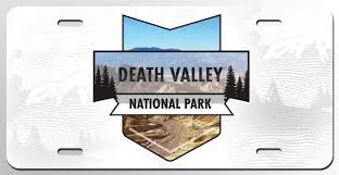 100 Valley Truck And Trailer Amazoncom Death National Park License Plate Tag
