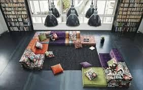 wohnzimmer möbel kombinieren exquisiter farb und stilmix